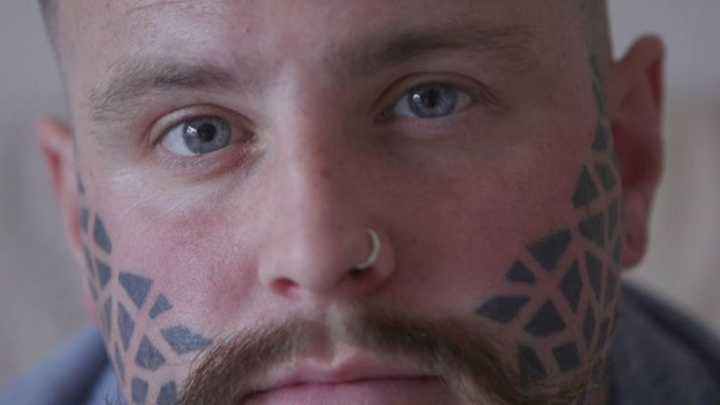 my life with a face tattoo bbc news