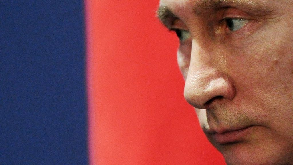 ' Putin is corrupt' says US Treasury - BBC News