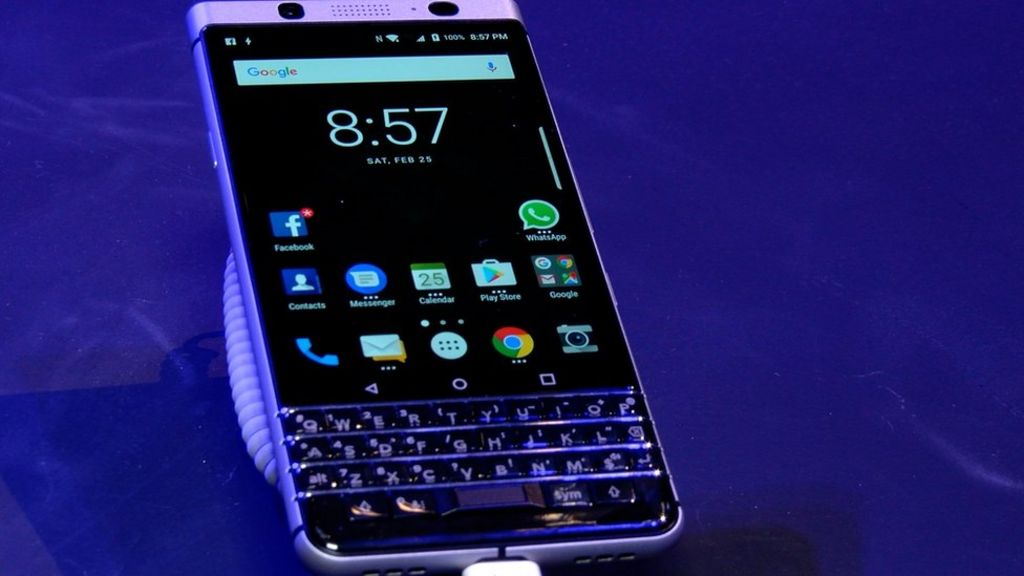 MWC 2017: Blackberry revives classic keyboard phone