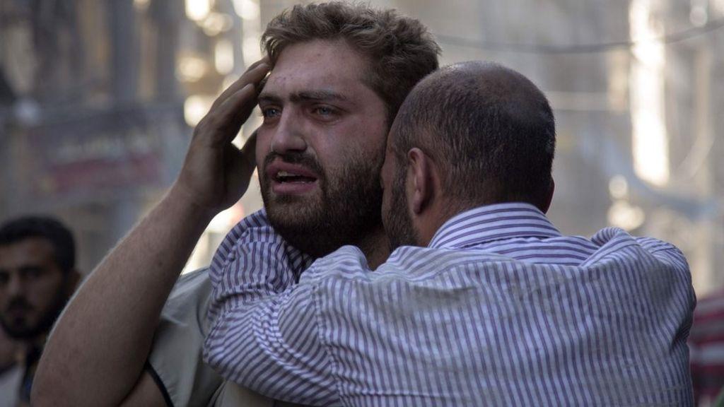 Syria war: Those bombing Aleppo