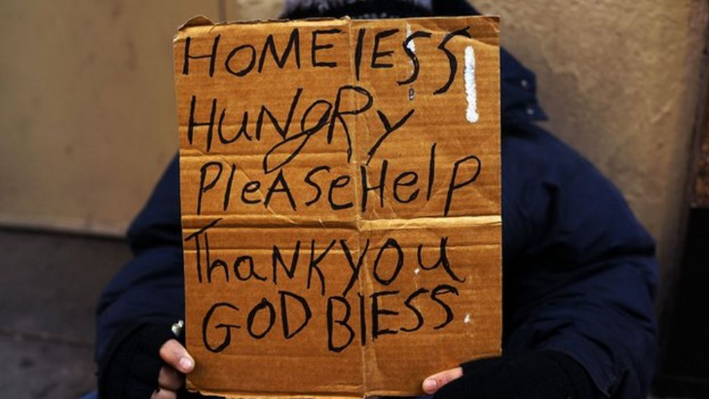 Should we give every homeless person a home bbc news for The sign