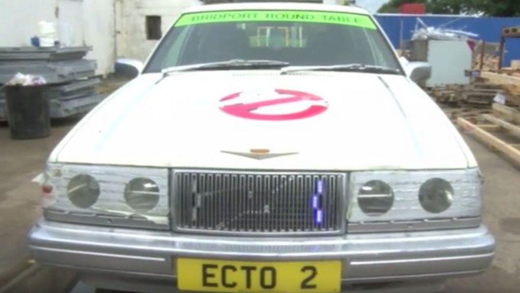 Replica Ghostbusters car created in Bridport - BBC News