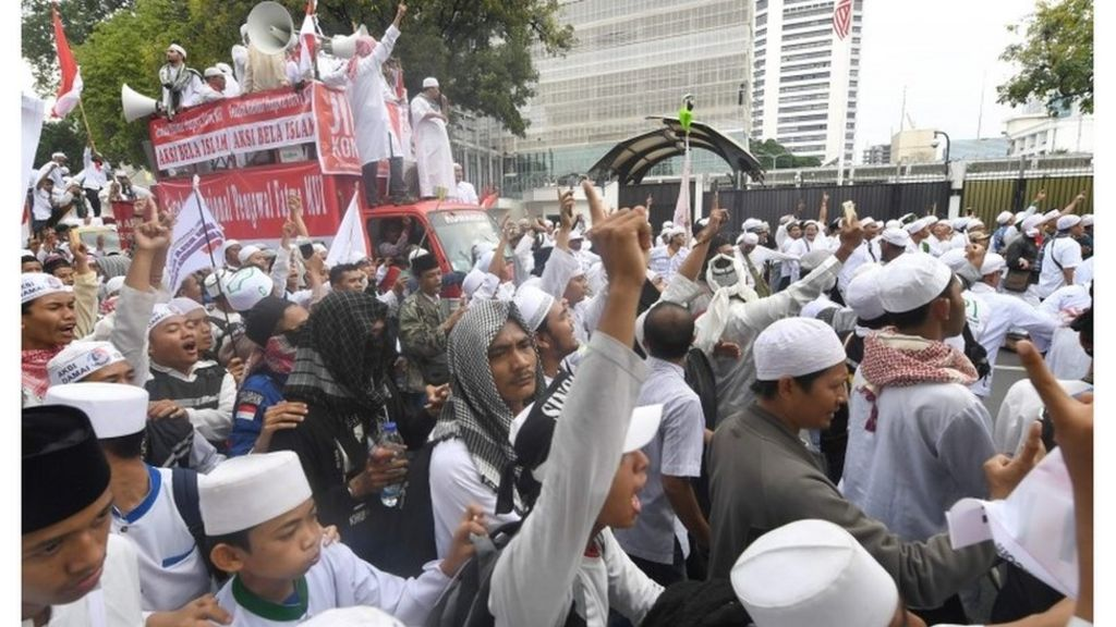 Aktor Politik Dalam Demonstrasi 4 November Bbc Indonesia
