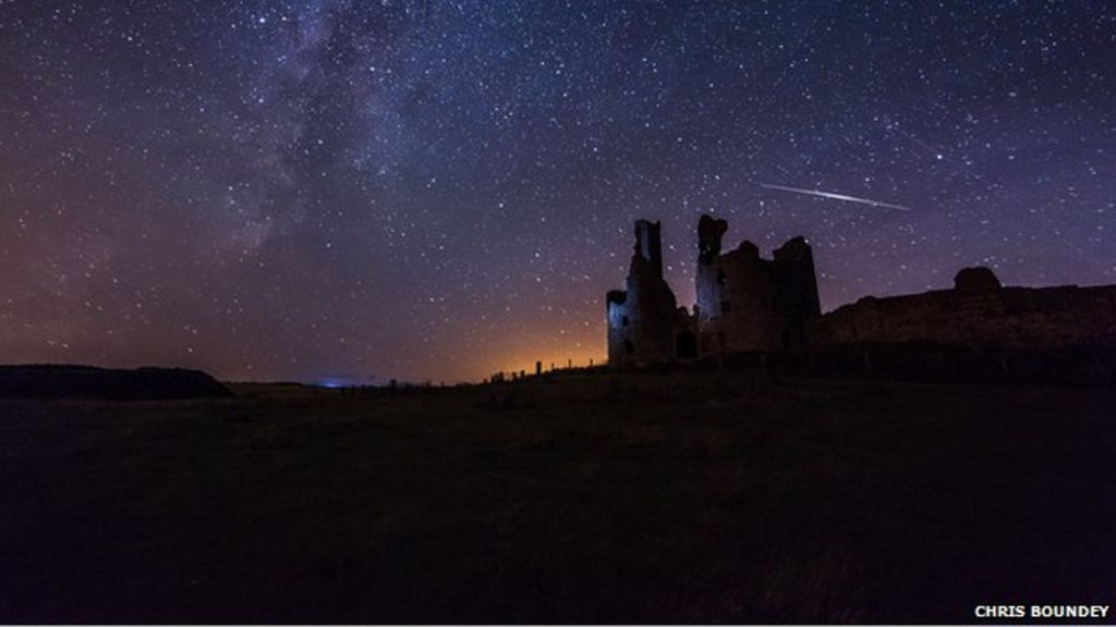 Galerry Perseid meteor shower photos in 60 seconds BBC News