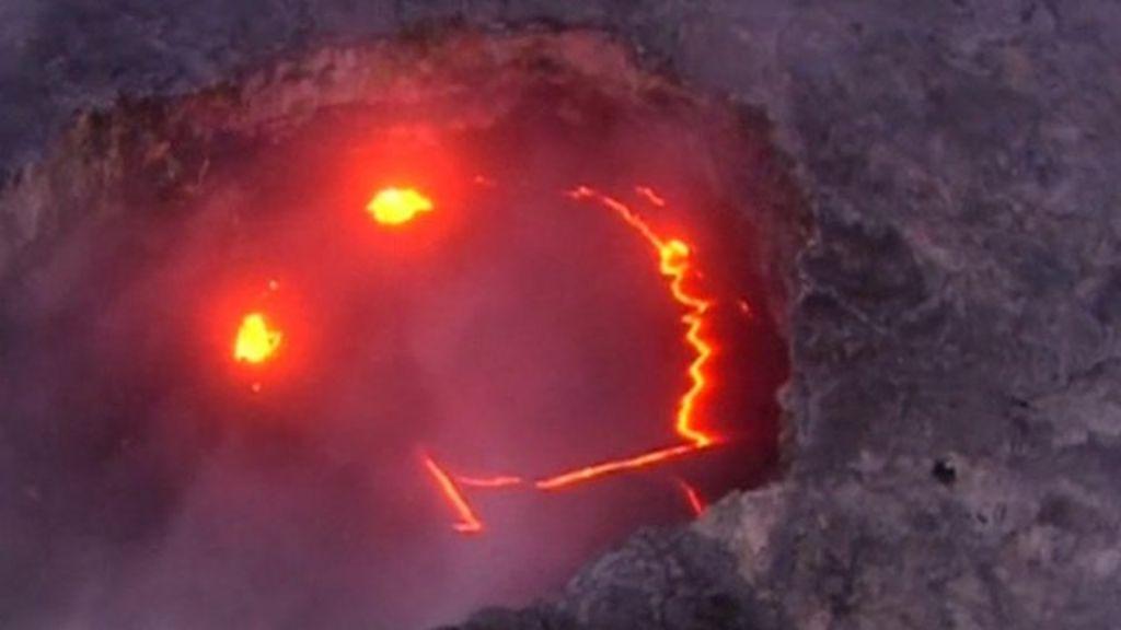 Lava Pictures From Smiling Hawaiian Kilauea Volcano