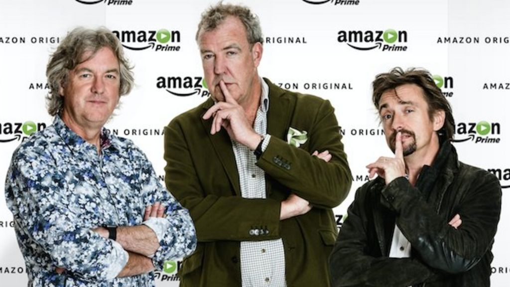 top gear 39 s jeremy clarkson richard hammond and james may making show for amazon bbc news. Black Bedroom Furniture Sets. Home Design Ideas