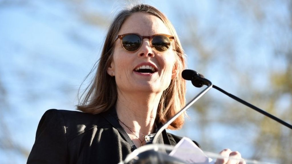 Image result for jodie foster protest