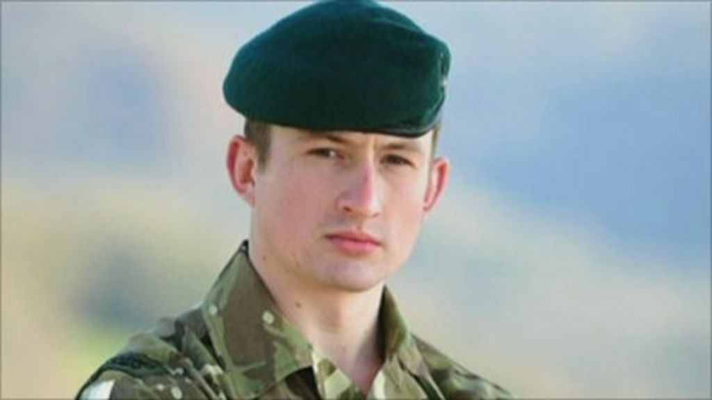 Royal Marine Lt Ollie Augustin's Kent funeral - BBC News