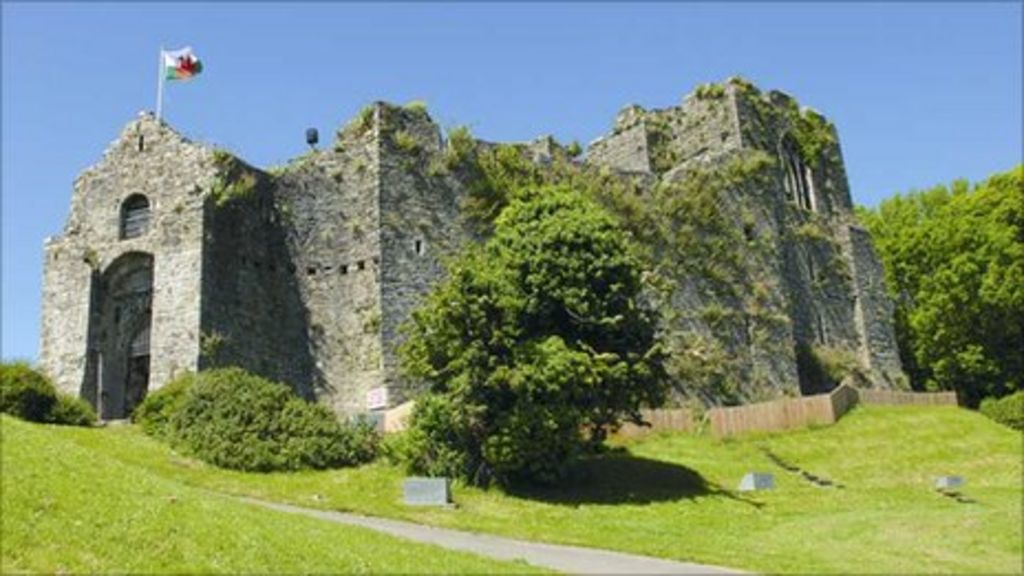 Oystermouth Castle at Mumbles reopens after £1m refit ...