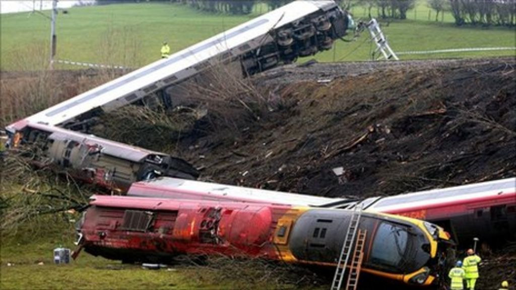 Cumbria rail crash