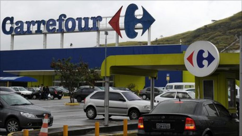 retailer carrefour to sell stake in greek joint venture bbc news. Black Bedroom Furniture Sets. Home Design Ideas