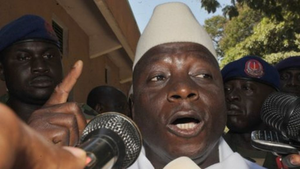 Zineb Yahya Jammeh Yahya Jammeh - BBC News