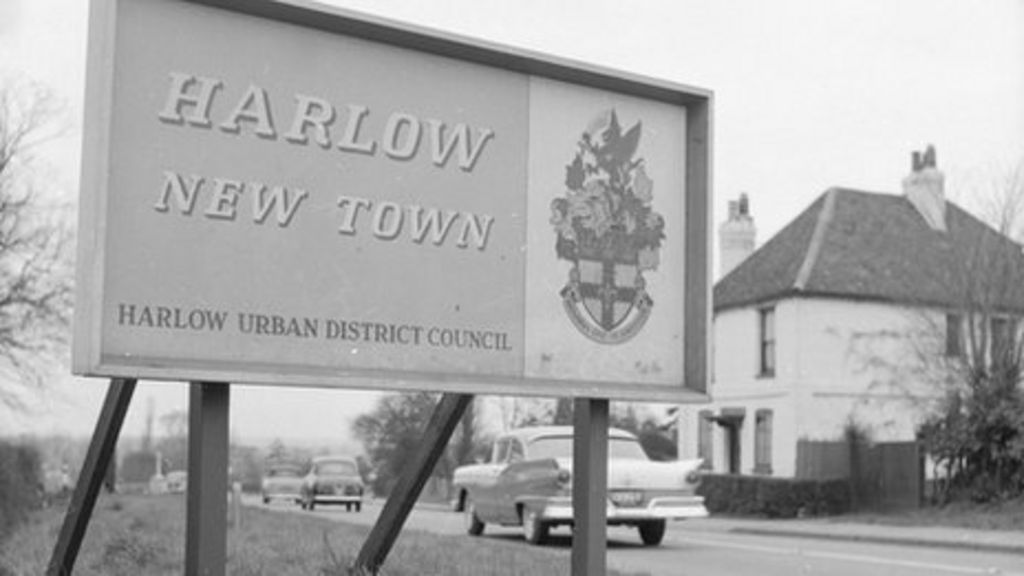 harlow new town 65th anniversary celebrated bbc news. Black Bedroom Furniture Sets. Home Design Ideas