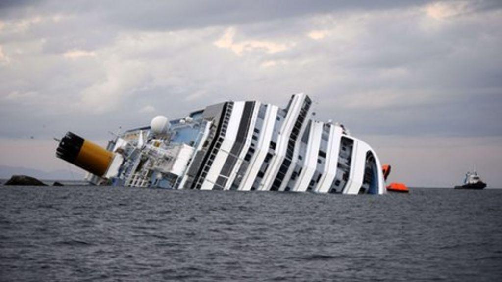 Costa Concordia Sinking Could Cost Carnival 95m Bbc News