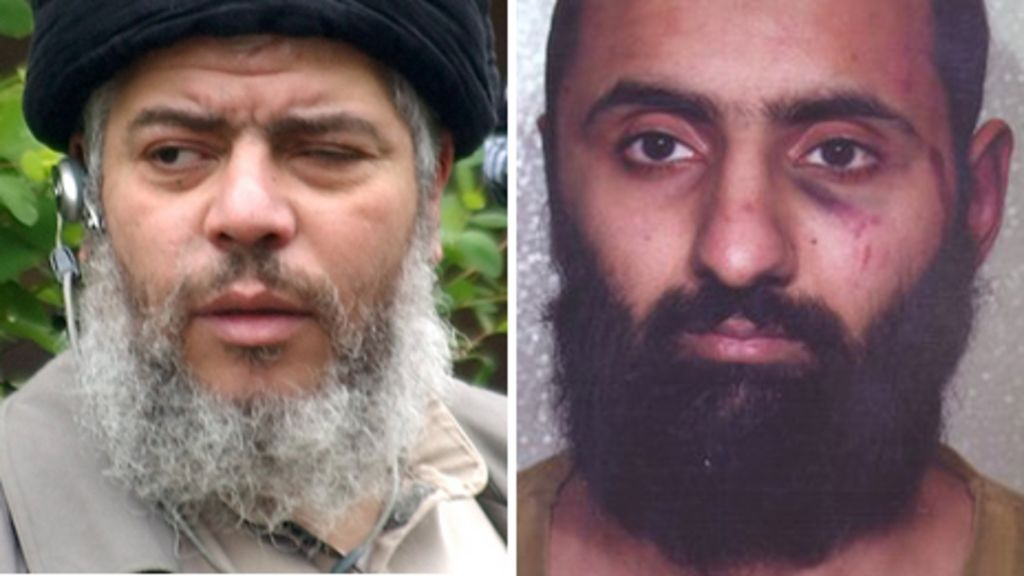Babar Ahmad and Abu Hamza among terror suspects to be sent to US - BBC News - _59572780_suspects464