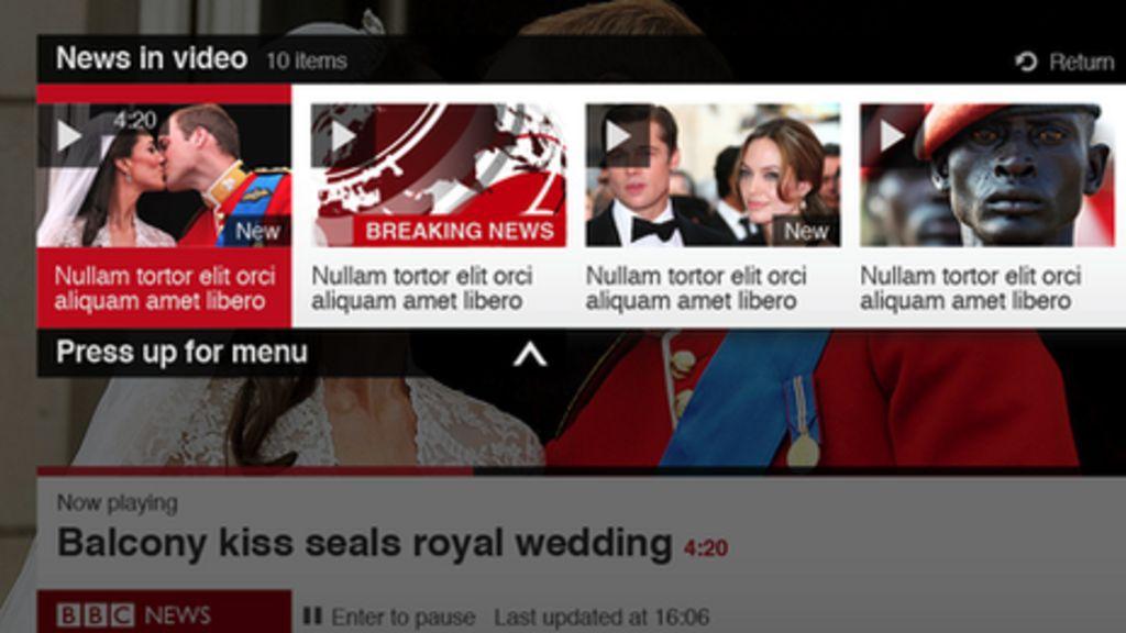 BBC News on connected TV - BBC News