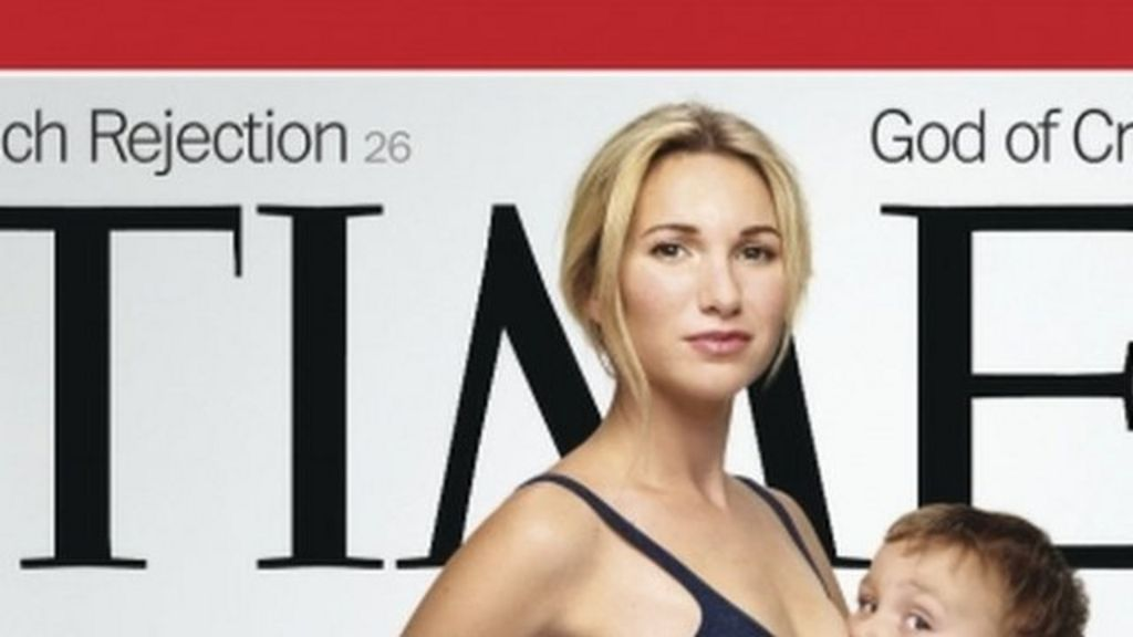 Breastfeeding Time magazine cover divides opinion
