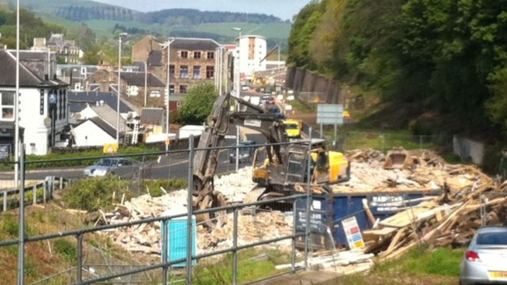 Galashiels works