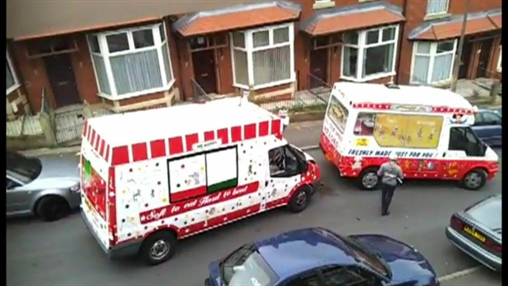 How To Make Ice Cream Van Ice Cream Bbc Food