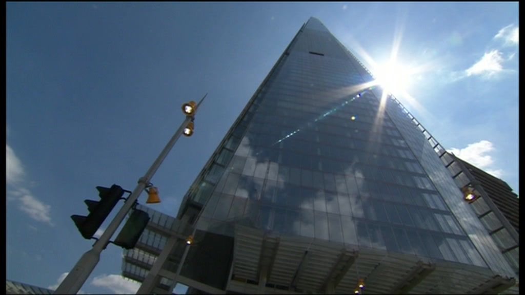 Shard Skyscraper Inaugurated In London Bbc News