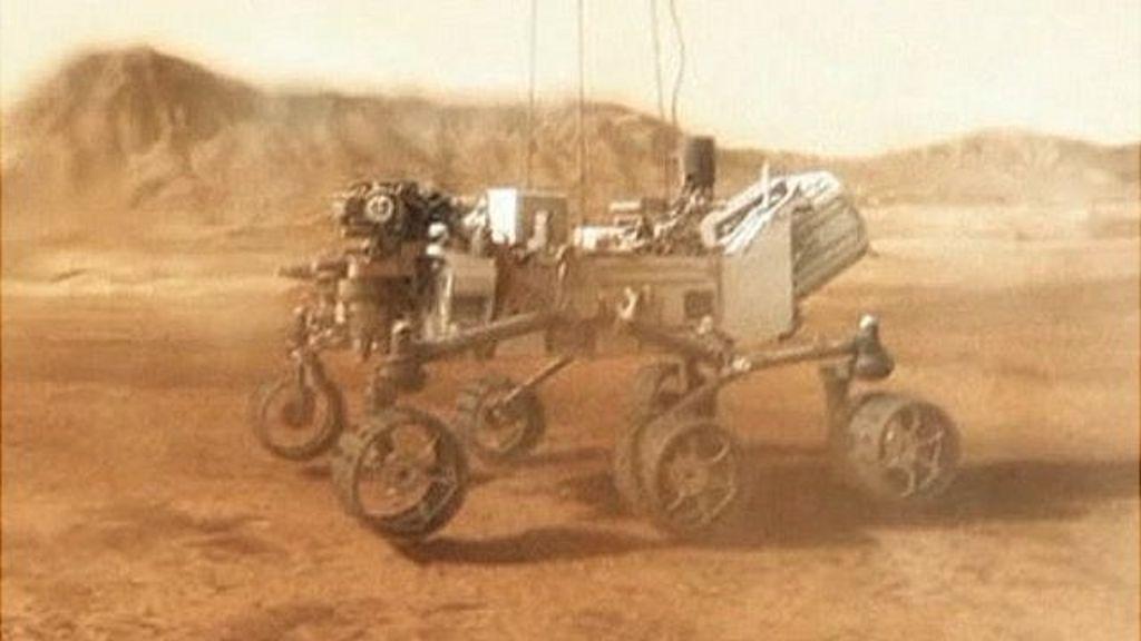 bbc news on mars landing - photo #47