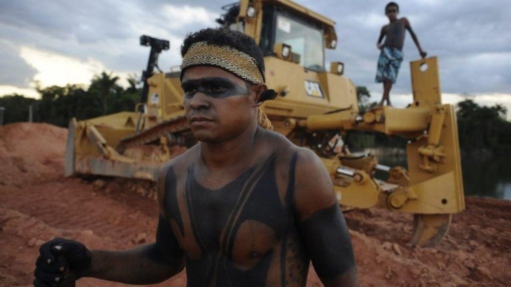 Work to resume on Brazil's Belo Monte dam - BBC News