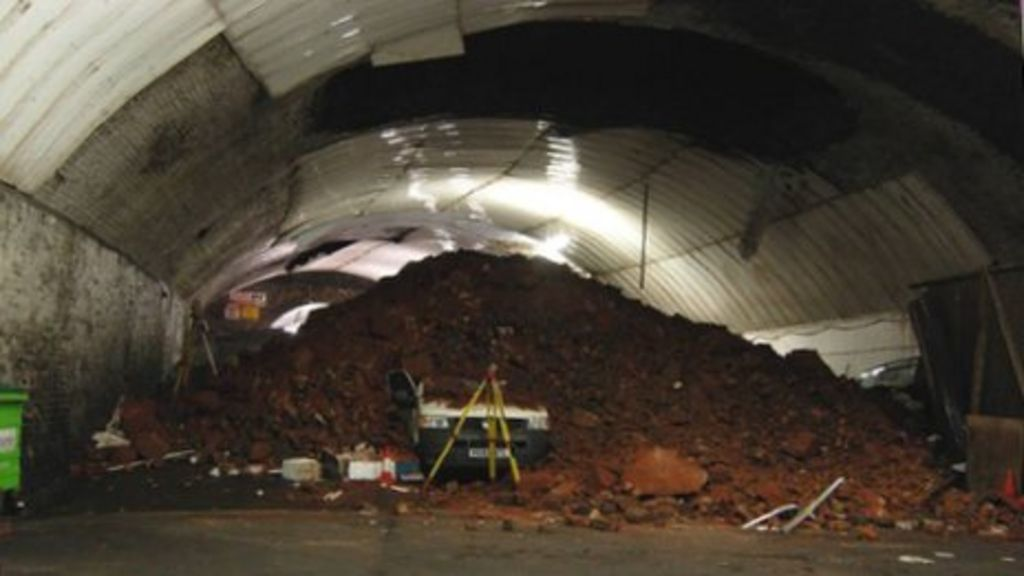 Dingle Tunnel Collapse Repairs To Start Bbc News
