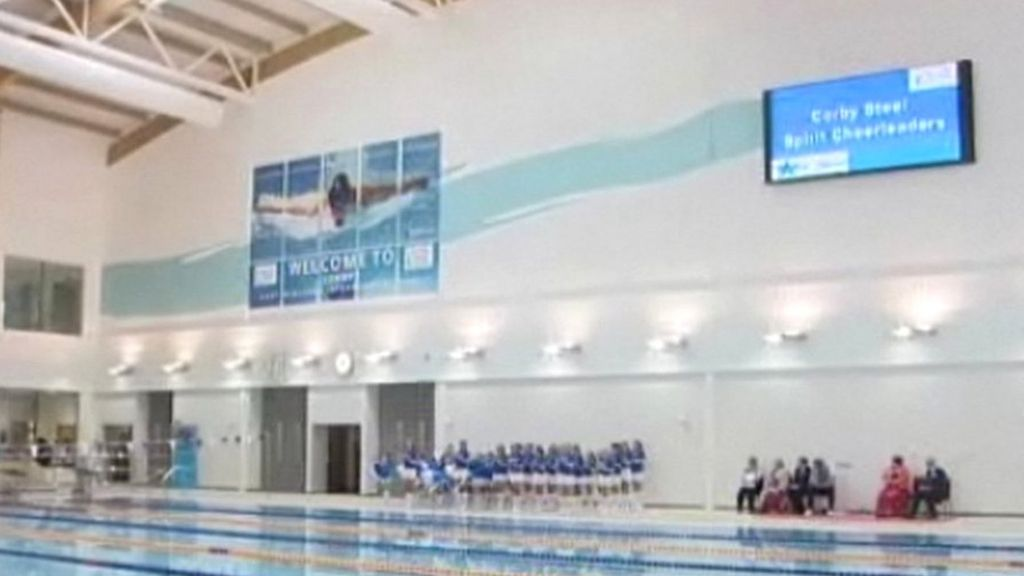 Shortage Of Swimming Instructors At Olympic Standard Pool In Corby Bbc News