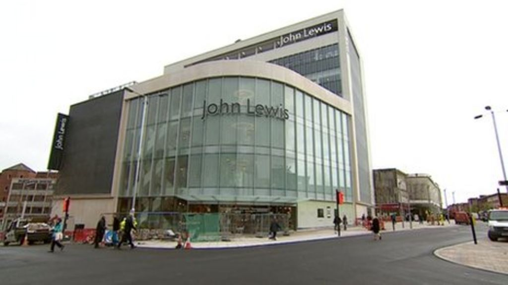 exeter john lewis opens with 7m worth of stock bbc news. Black Bedroom Furniture Sets. Home Design Ideas