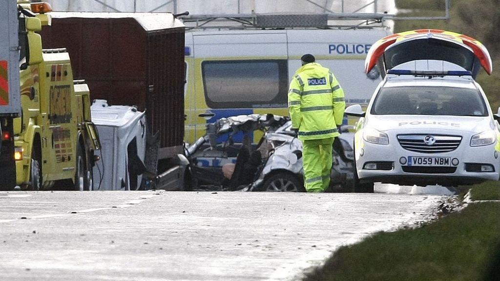 Car Crash Moneymore Road Magherafelt
