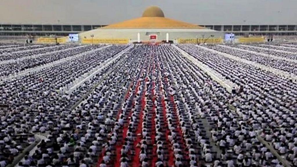 'One million children' join Buddhist meditation event ...