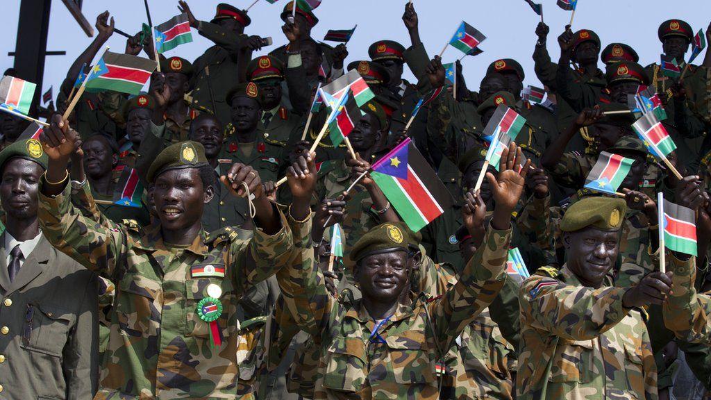 south sudan defends army dismissals bbc news