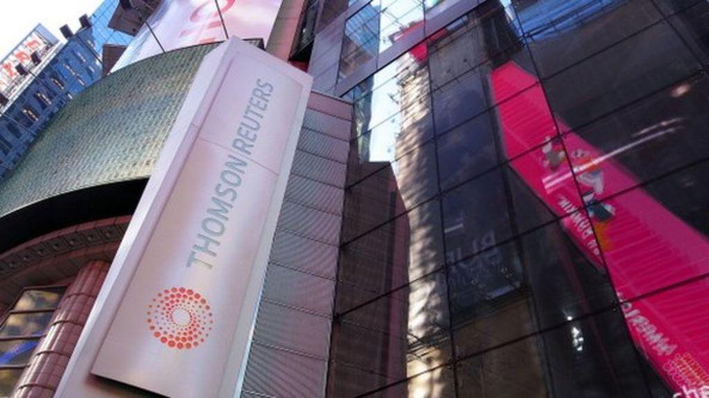 Thomson Reuters to cut 2,500 jobs - BBC News