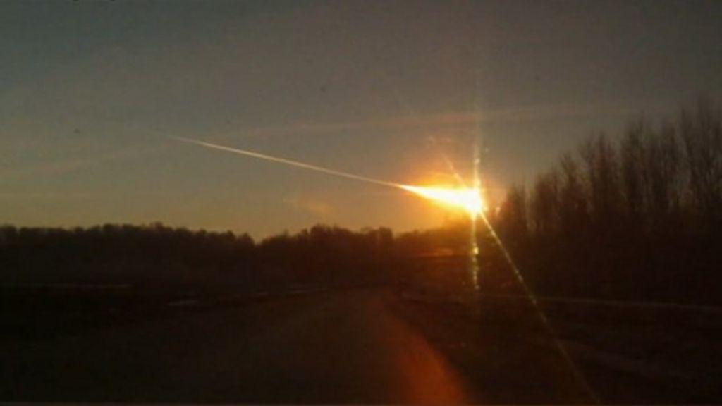 Meteor strike in Russia 'a rare event' - BBC News