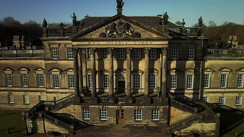 Restoration Work Begins On Wentworth Woodhouse Bbc News