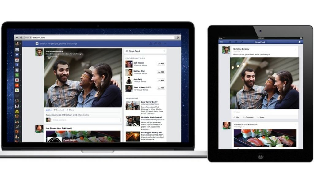 Bbc News Facebook: Facebook News Feed Revamp Learns Lessons From Mobile