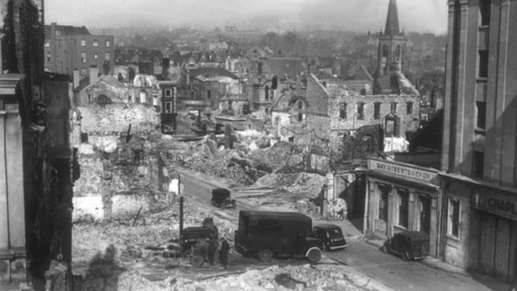 plymouth 39 s 39 first 39 wwii bomb site discovered bbc news. Black Bedroom Furniture Sets. Home Design Ideas
