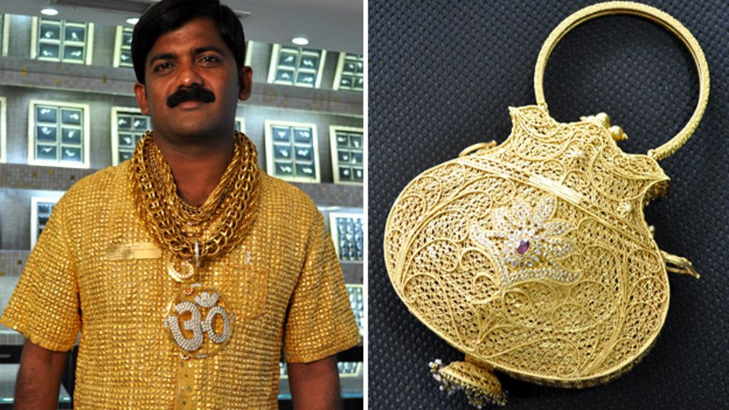 Why Spend 250 000 On A Gold Shirt Bbc News