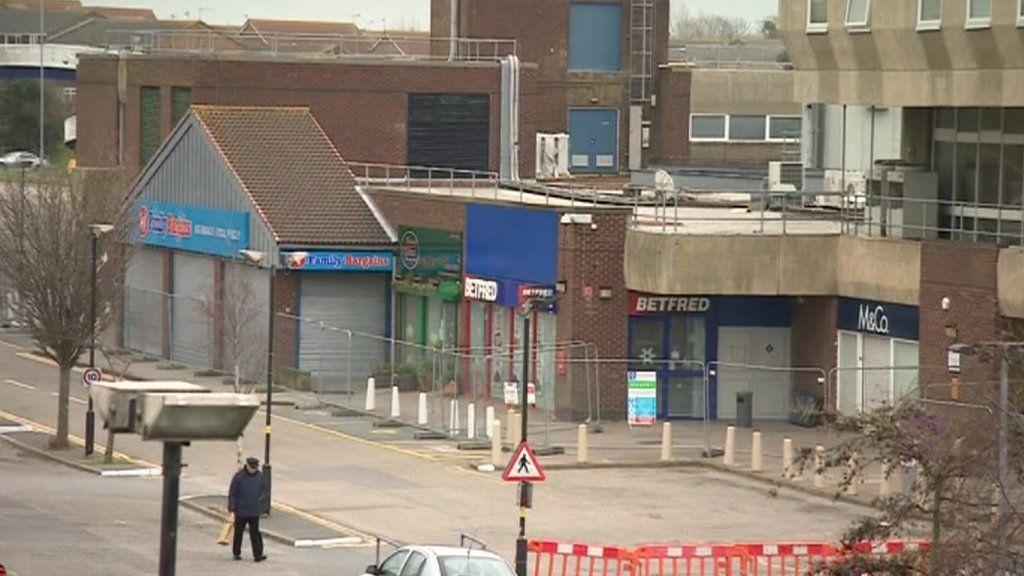 Eastbourne Langney Centre Shops Reopen After Roof Collapse