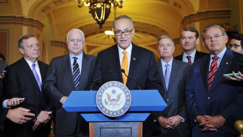 US Senate Votes on Immigration Reform - VOA News