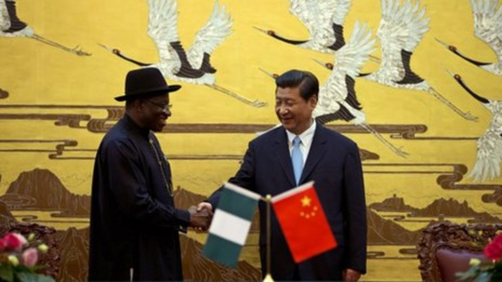 China and Nigeria sign $1.1bn deal - BBC News