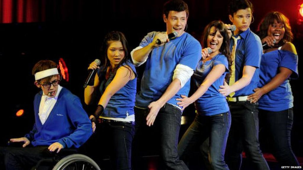 In pictures: Cory Monteith - BBC News