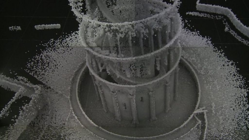 Tower of Pisa interior mapped in 3D - BBC News