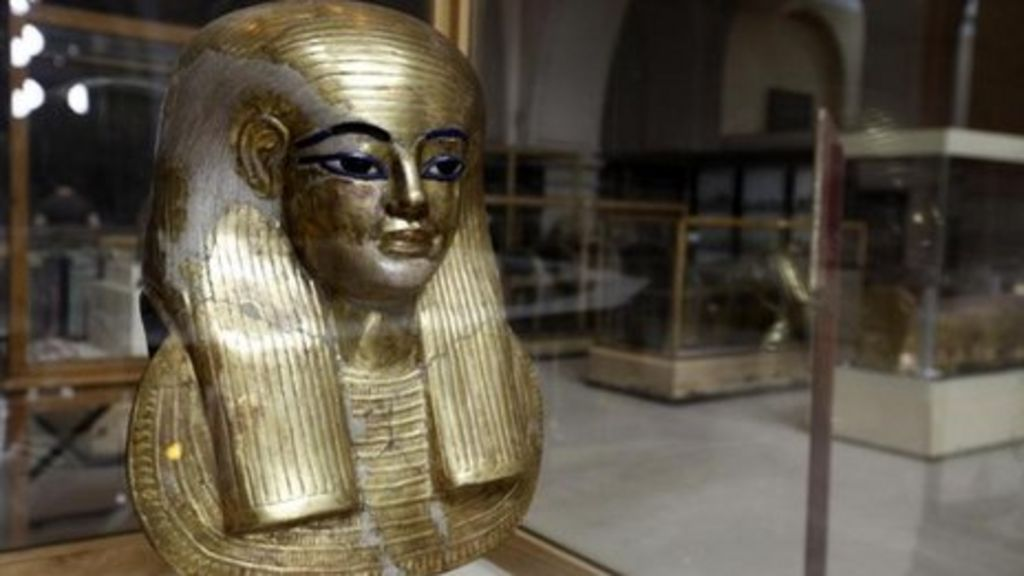 Egypt Exhibits Artefacts That Survived Uprising Bbc News