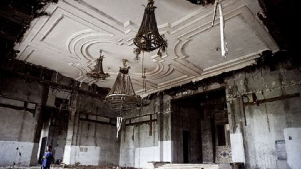 Inside Mobutu 39 S Ruined Jungle Palace In DR Congo BBC News