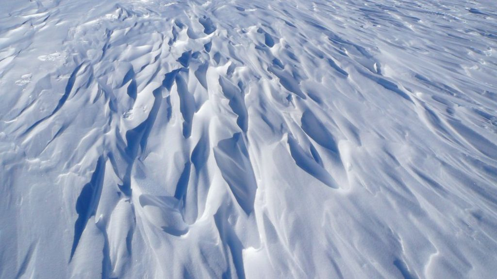 Coldest Spot On Earth Identified By Satellite Bbc News