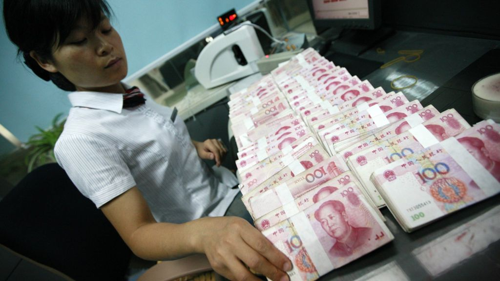China money rate spikes amid cash crunch concerns - BBC News