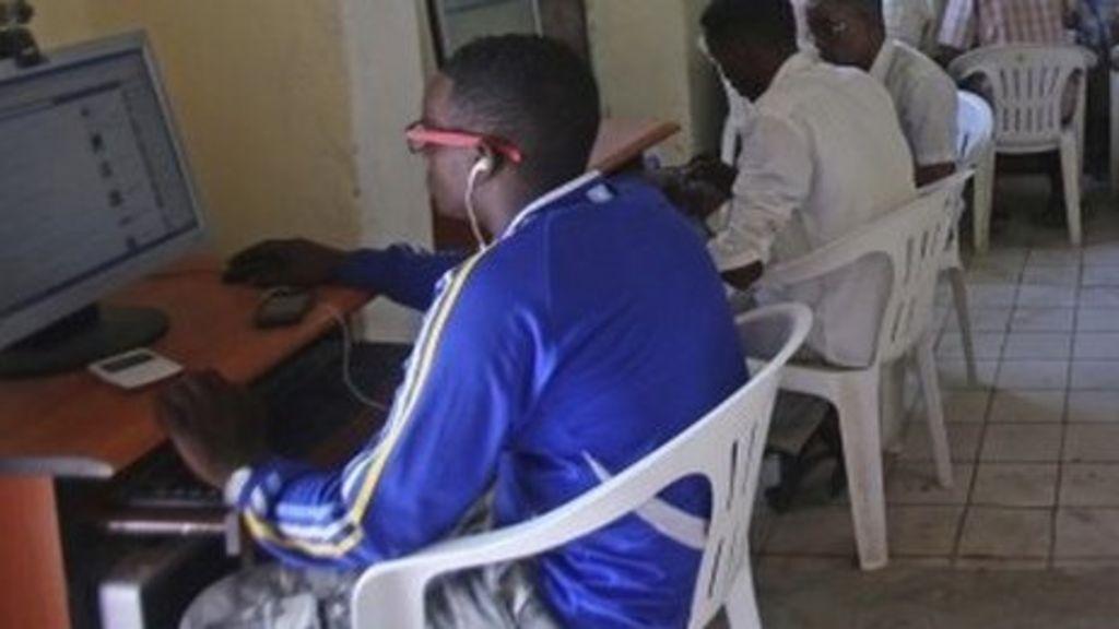 Somalia In High Speed Internet Culture Shock Bbc News