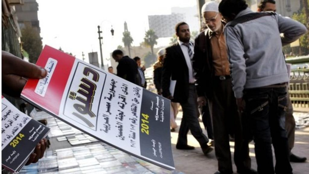 Egypt referendum also seen as vote on Morsi's removal - BBC News