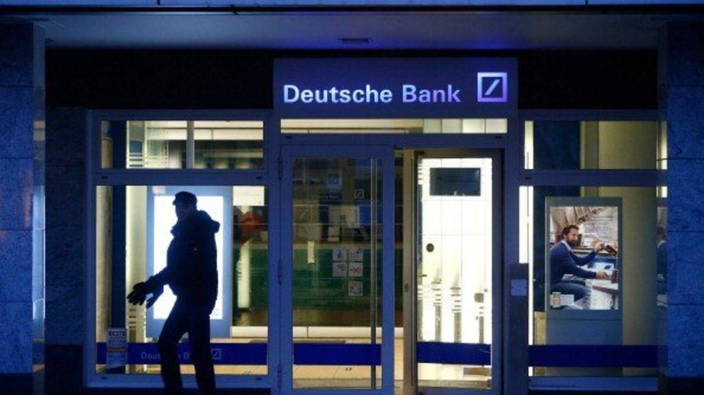 deutsche bank reports surprise loss as legal costs mount. Black Bedroom Furniture Sets. Home Design Ideas